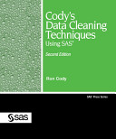 Cody s Data Cleaning Techniques Using SAS