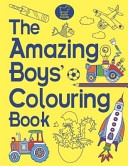 The Amazing Boys  Colouring Book