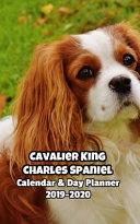 Cavalier King Charles Spaniel Calendar Day Planner 2019 2020