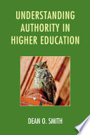 Understanding Authority in Higher Education