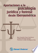 Aportaciones A La Psicolog A Jur Dica Y Forense Desde Iberoam Rica