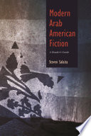 Modern Arab American Fiction
