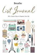 Breathe List Journal