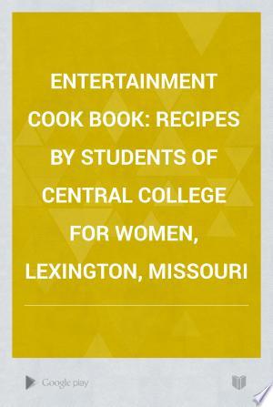 Entertainment Cook Book
