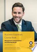Business Essentials   Management