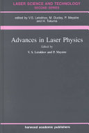 Advances In Laser Physics