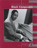 International Dictionary of Black Composers