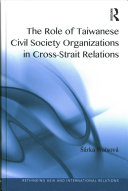 The Role of Civil Society Organizations in Cross-strait Relations
