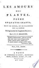 Les amours des plantes