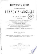 Dictionnaire international fran  ais anglais