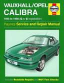 Vauxhall Opel Calibra Service And Repair Manual