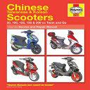 Chinese Taiwanese Korean Scooters 50cc Thru 200cc 04 09