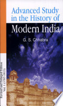 Advance Study In The History Of Modern India Volume 1 1707 1803