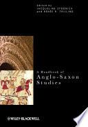 A Handbook of Anglo Saxon Studies