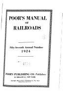 Poor s manual of railroads