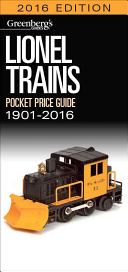 Lionel Trains Pocket Price Guide 1901 2016