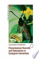 Phytochemical Diversity and Redundancy in Ecological Interactions Biological Impera Tive And A