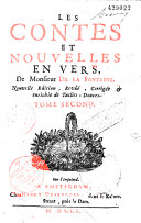 La Fontaine, Contes en 3 tomes