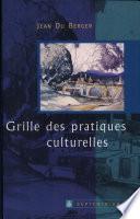 Grille des pratiques culturelles