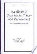Handbook of Organizational Theory and Management