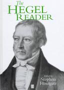 The Hegel Reader book