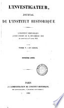 Journal Continued As L Investigateur