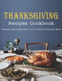 Thanksgiving Recipes Cookbook