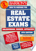 Barron s How to Prepare for the Real Estate Examination