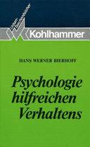 Psychologie hilfreichen Verhaltens