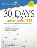 30 Days to Acing the Lower Level ISEE
