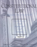 Constitutional Law  Civil rights and civil liberties