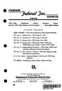 Standard Federal Tax Reporter 1959