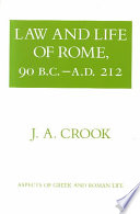 Law and Life of Rome