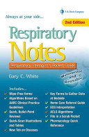 Respiratory Notes cover page