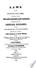 Laws of the State of New York  in Relation to the Erie and Champlain Canals Book PDF