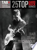 25 Top Hard Rock Songs   Tab  Tone  Technique   Songbook