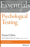 Essentials of Psychological Testing