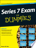 Series 7 Exam For Dummies