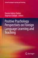 download ebook positive psychology perspectives on foreign language learning and teaching pdf epub