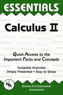 The Essentials of Calculus II