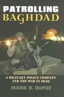 Patrolling Baghdad