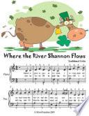 download ebook where the river shannon flows - easy piano sheet music junior edition pdf epub