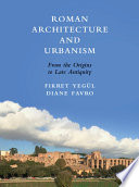 Roman Architecture and Urbanism Book PDF