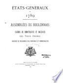 Etats-Généraux de 1789