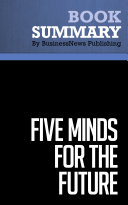 Summary Five Minds For The Future Howard Gardner