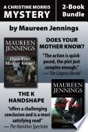 Christine Morris Mysteries 2 Book Bundle
