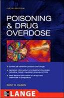 Poisoning Drug Overdose 5th Edition