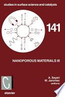 Nanoporous Materials Iii book