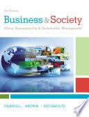 Business Society Ethics Sustainability Stakeholder Management