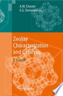 Zeolite Characterization And Catalysis book